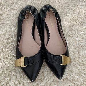 Mulberry Black Leather Flats